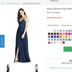 Dessy Collection Dresses - Dessy Social Bridesmaid Style 3019